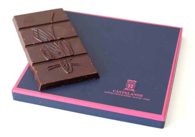 La box de tablettes de chocolats Castelanne