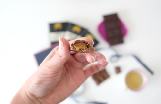 Tablette de chocolat Castelanne