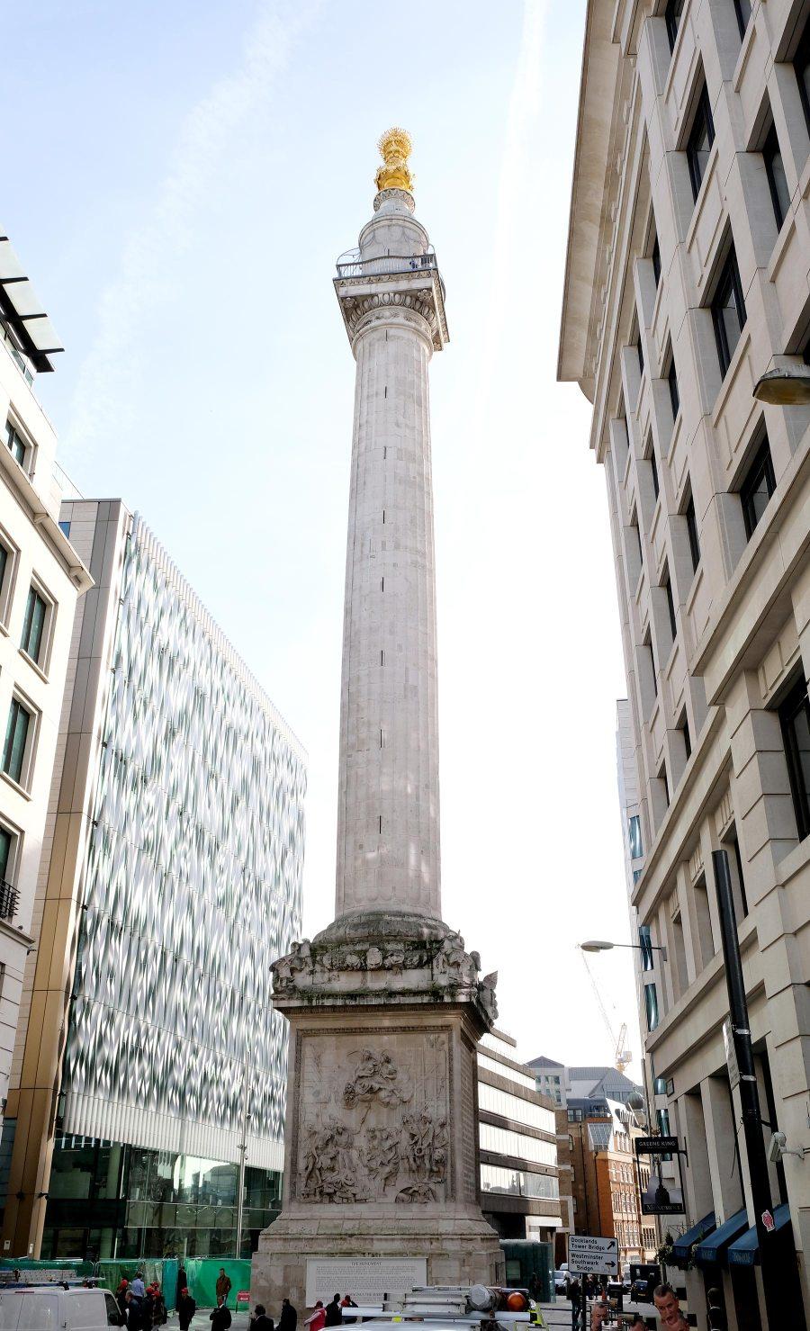 Visiter The Monument à Londres