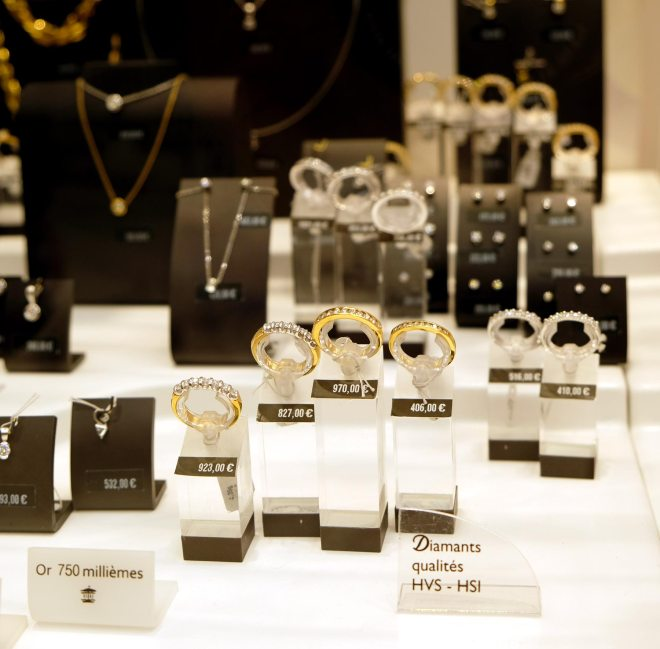 Bijoux du Manège à bijoux du magasin Leclerc Orvault grand val à côté de Nantes