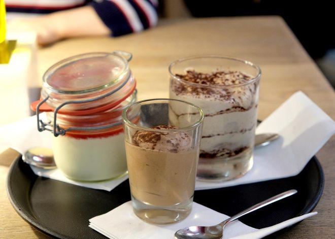 Desserts chez Vapiano Nantes Atlantis