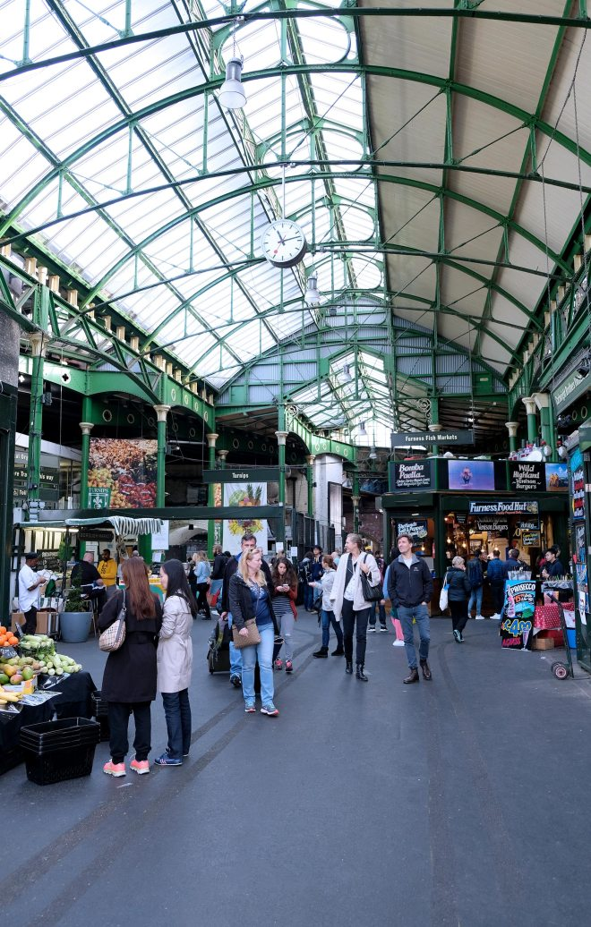Borough market : marché alimentaire à Londres