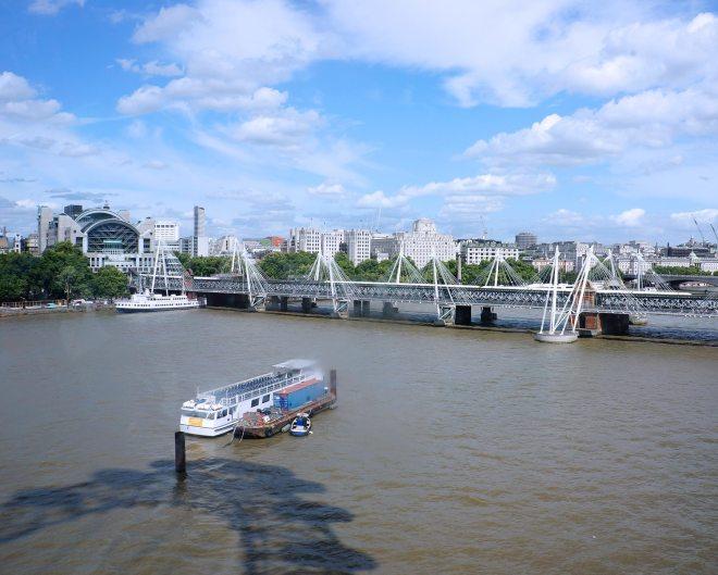 The Coca-Cola London eye, grande-roue de 140 mètres de haut