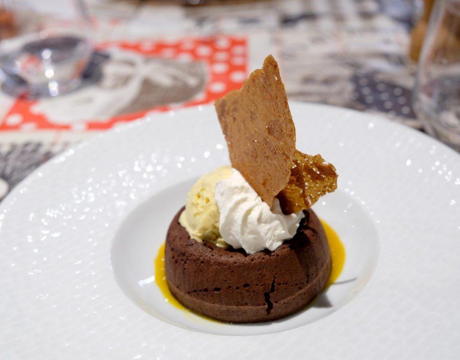 Dessert Chez Fernand, restaurant situé à Saint-Herblain, à côté de Nantes