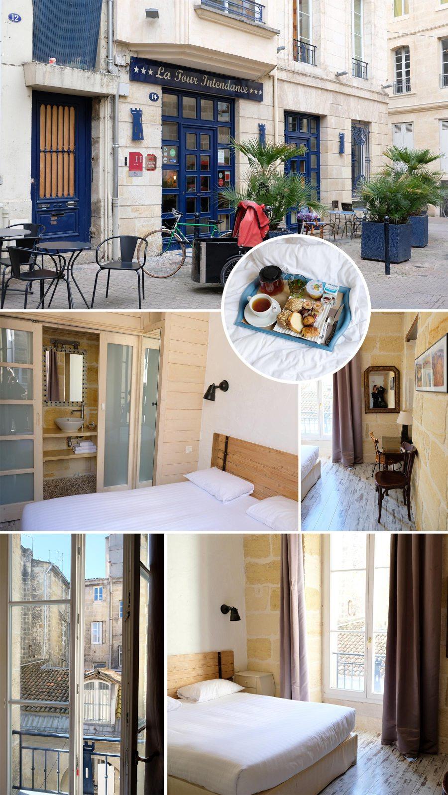 Hôtel de charme : La Tour intendance à Bordeaux