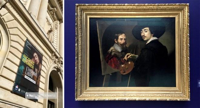 Exposition Nicolas Régnier au Musée d'arts de Nantes