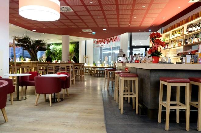 Spécialités végétariennes chez Vapiano Atlantis à Saint-Herblain à côté de Nantes