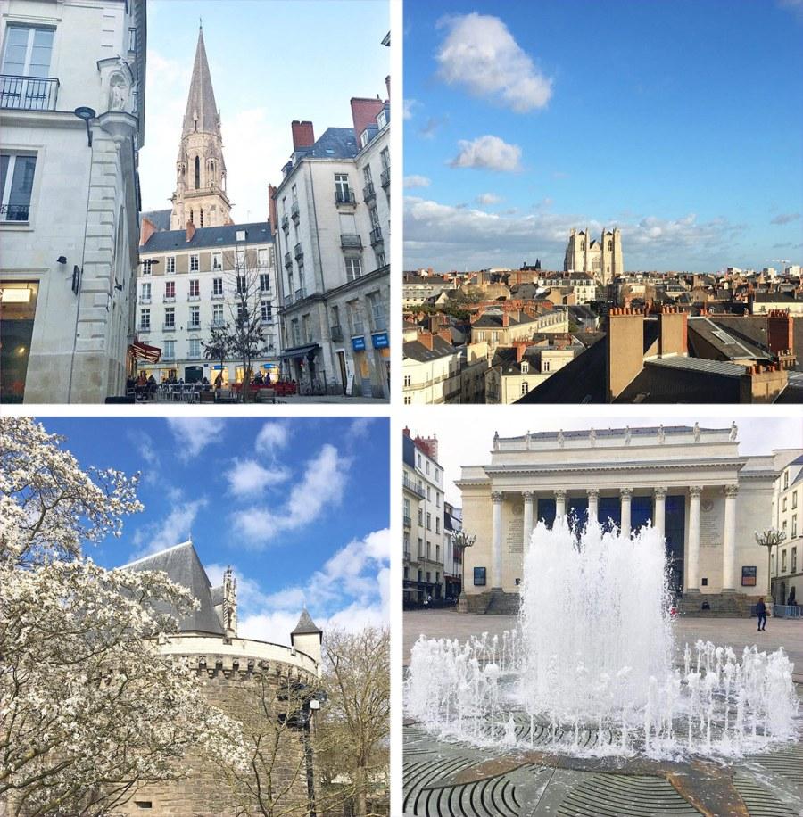 Balades à Nantes au mois de mars 2018