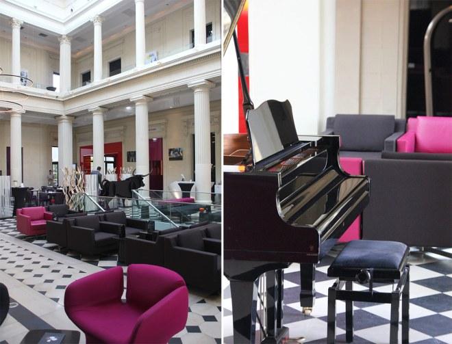 Dîner partagé au Radisson blu Nantes hôtel de luxe avec restaurant gastronomique