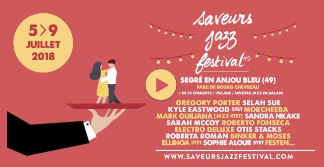 Saveurs jazz festival à Segré en 2018