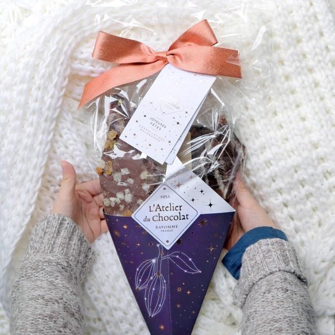 Bouquet de chocolat de l'Atelier du chocolat