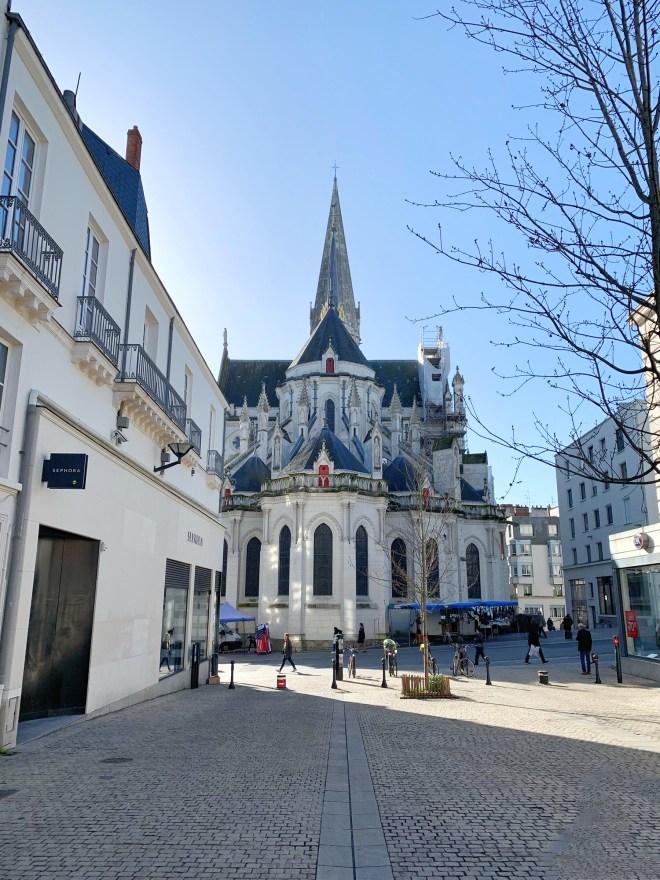 Balades à Nantes en février 2019 : église St Nicolas
