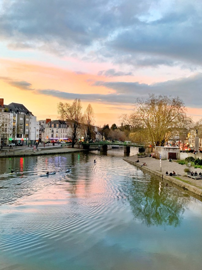 Balades près de l'Erdre au printemps à Nantes