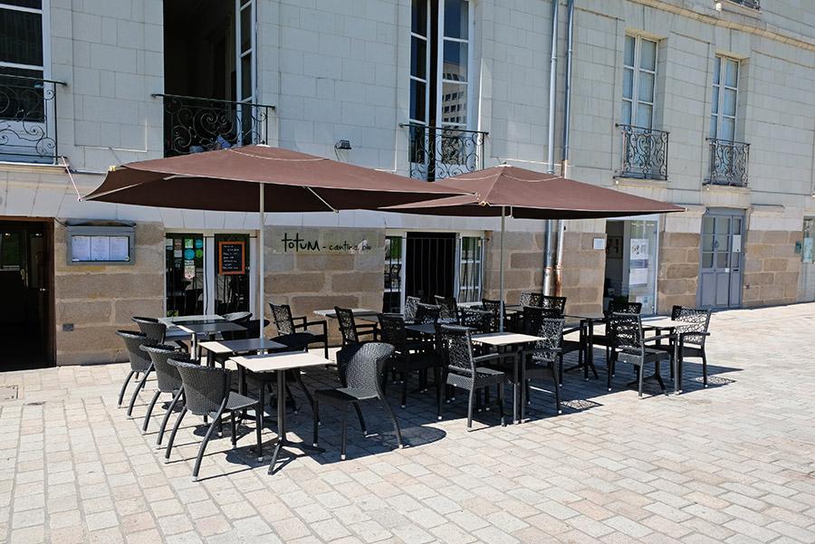 Totum, restaurant bio local végan végétarien et sans gluten à Nantes