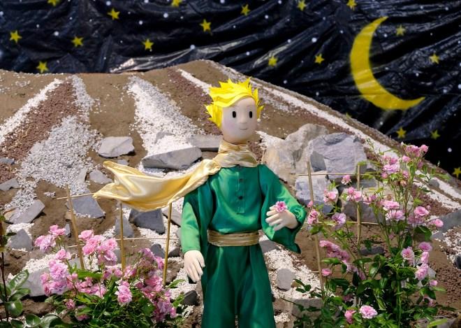 Le Petit Prince aux Floralies de Nantes