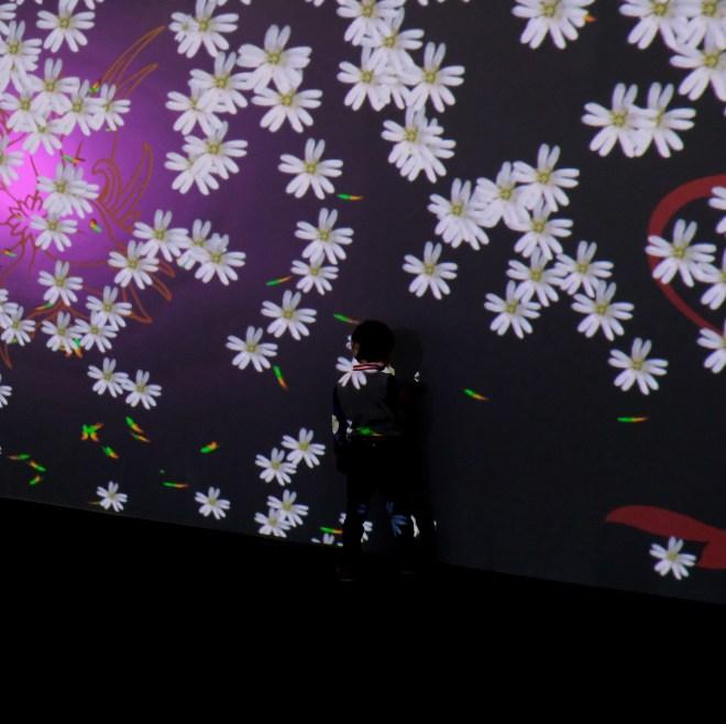 Dispositif interactif aux Floralies de Nantes