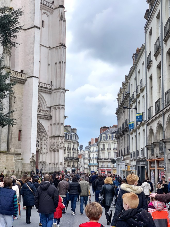 Nantes, ville belle et touristique