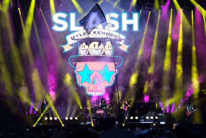 Le Hellfest 2019 en images : le concert de Slash feat. Myles Kennedy