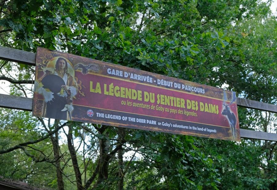 Legendia parc : parc sur les légendes près de Nantes