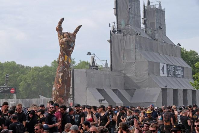 Avis sur le Hellfest 2019 : ambiance et décors sur le site