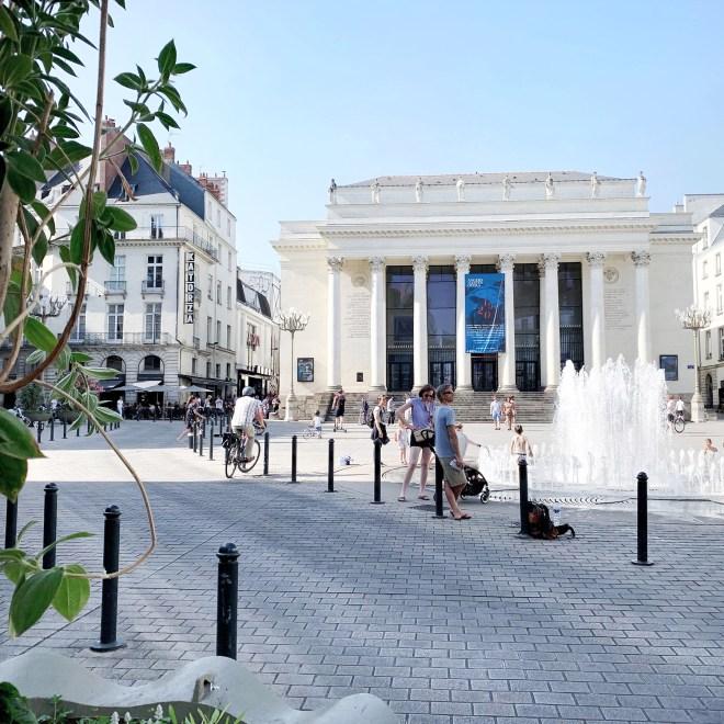 Place Graslin à Nantes