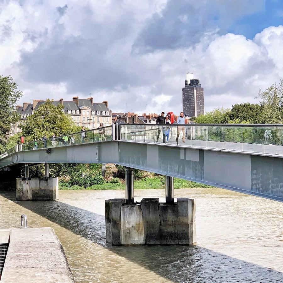 passerelle Schoelcher à Nantes