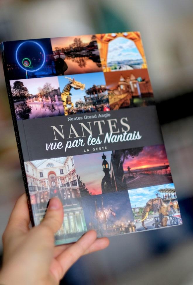 Le livre du collectif Nantes grand angle : Nantes vue par les Nantais