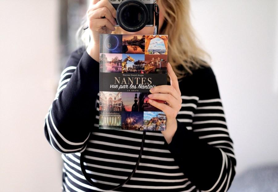 Claire Faurie, photographe nantaise, avec son ouvrage collectif Nantes vue par les Nantais