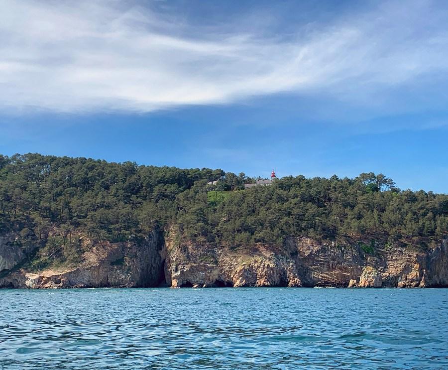 Visite des grottes marines à Morgat à Crozon
