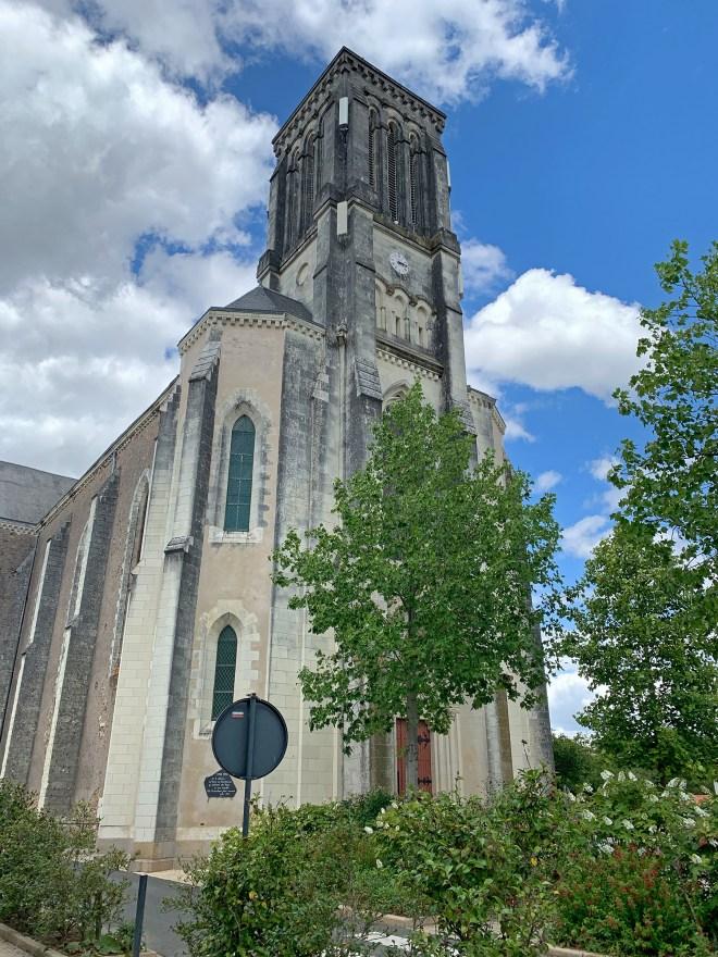 Eglise de Champtoceaux en Anjou