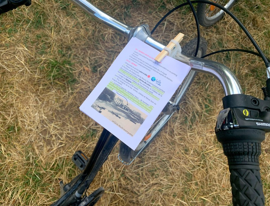 """Visite de l'Anjou à vélo avec la box """"Un jour, un village"""" Orée d'Anjou"""