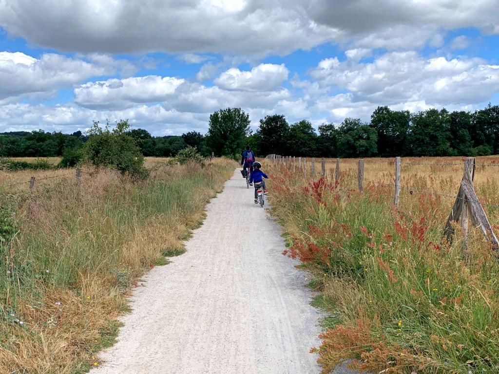 Faire du vélo en Anjou