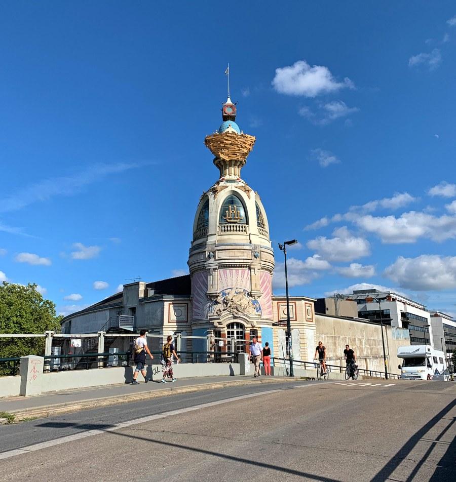 Lors du Voyage à Nantes 2019, la Tour LU était devenue oeuvre d'art