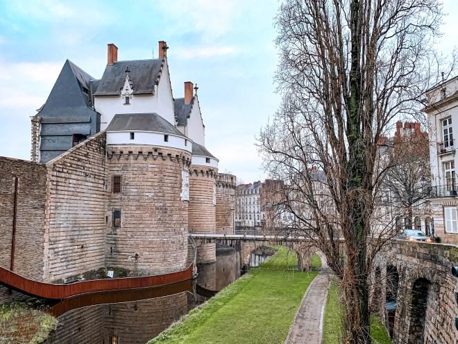 Le Château des Ducs de Bretagne de Nantes en hiver