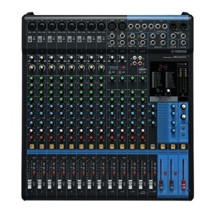 Console analogique 16 canaux avec effets Yamaha - Nantes Sono - Location de matériel de sono de lumière et de vidéo à Nantes (44)