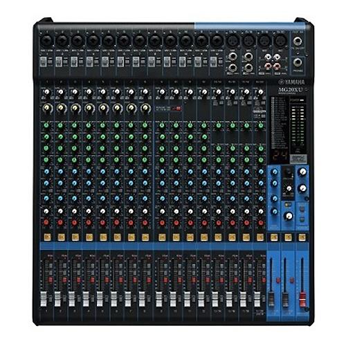 Console analogique 20 canaux avec effets Yamaha - Nantes Sono - Location de matériel de sonorisation de lumière et de vidéo à Nantes (44)