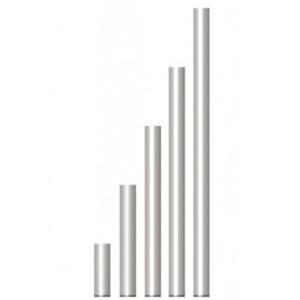 Pied fixe en tube alu 0.40M - Nantes Sono - Location de matériel de sonorisation de lumière et de vidéo à Nantes (44)