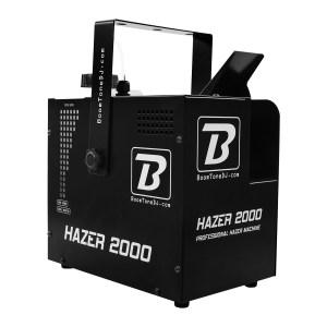 Machine à Brouillard Pro BOOMTONE DJ Hazer 2000 - Nantes Sono - Location et vente de matériel de sonorisation de lumière et de vidéo à Nantes (44)