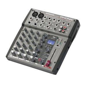 Console de Mixage PHONIC AM 220P - Nantes Sono - Location et vente de matériel de sono de lumière et de vidéo à Nantes (44)