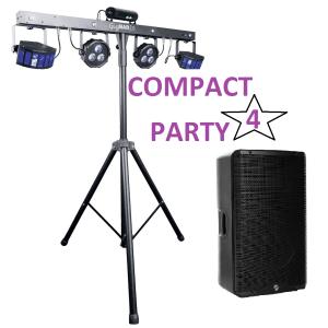 Compact Party 4 - Nantes Sono - Location et vente de matériel de sono de lumière et de vidéo à Nantes (44)