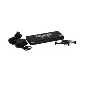 Distributeur 1x8 HDMI 4K-60 MUXLAB 500427 - Nantes Sono - Location et vente de matériel de sono de lumière et de vidéo - Pays de La Loire - France
