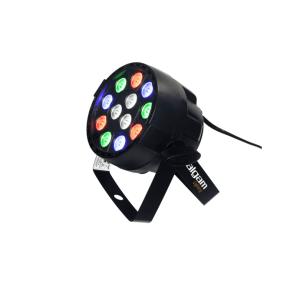Projecteur LED Algam Lighting PAR WASH 12 - Nantes Sono - Location et vente de matériel de sono de lumière et de vidéo - Pays de La Loire - France