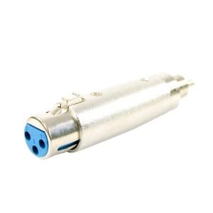 Adaptateur XLR Femelle - RCA Mâle PLUGGER Easy - Sono 85 - Sono Nantes - Location et Vente de matériel de sono de lumière et de vidéo