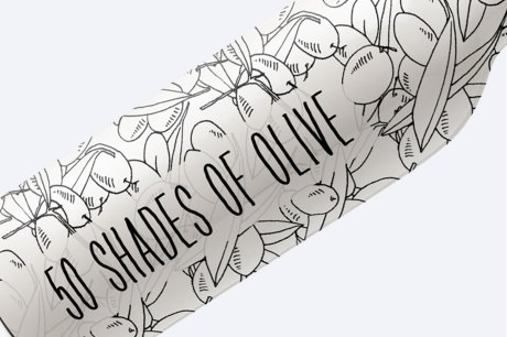50 Shades Of Olive Hand Drawn Illustrations Mega Pack