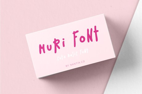 Muri Handcrafted Font