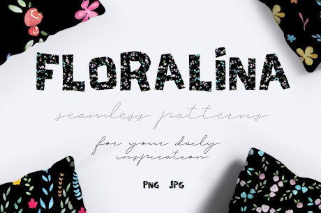 10 Floral Vintage Patterns Pack