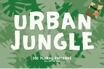 100 Patterns Urban Jungle Bundle