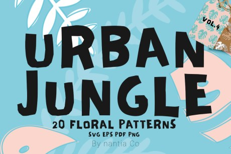 20 Urban Jungle Patterns Vol 4