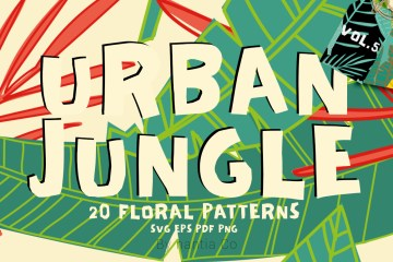 20 Urban Jungle Patterns Vol 5