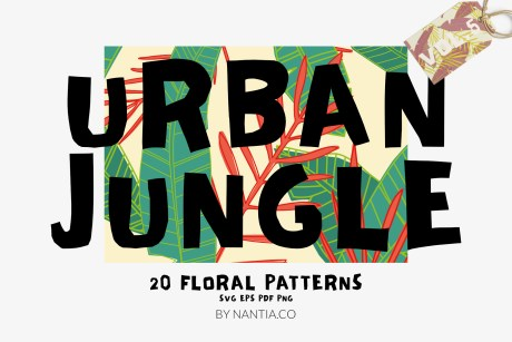 Seamless Patterns 20 x Urban Jungle Vol 5